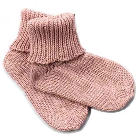 Calcetín bebé JUNO PALE ROSE algodón 100%