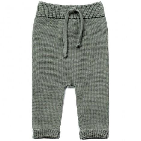 Pantalón bebé WILL MINT tricot algodón