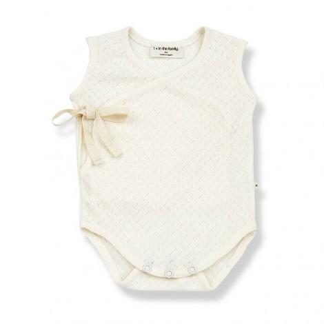 Body AMELIE de bebé en CRUDO