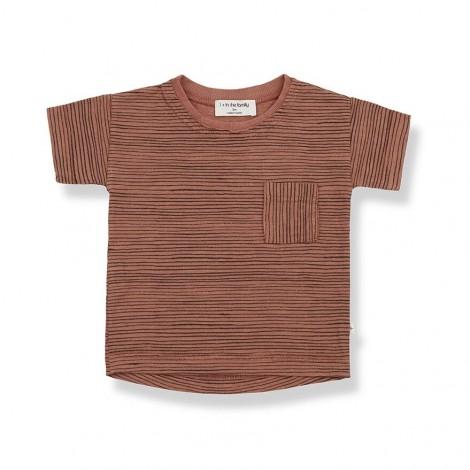 Camiseta M/C rallitas BERNAT de bebé en ROIBOS