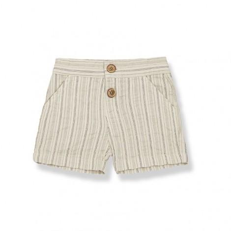Pantalón corto bermuda GAEL de bebé en BEIGE