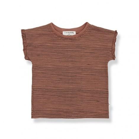 Camiseta femenina rallitas ISONA de bebé en ROIBOS