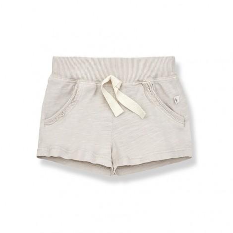 Pantalón corto bermuda LUIS de bebé en STONE