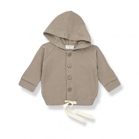 Chaqueta capucha OTTO de bebé en KAKI