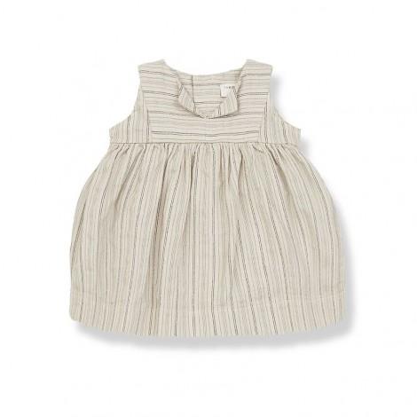 Vestido RITA de bebé en BEIGE