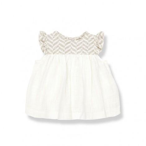 Vestido ROMITA de bebé en BEIGE