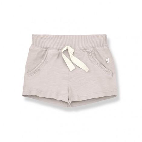 Pantalón corto bermuda LUIS de bebé en ROSA