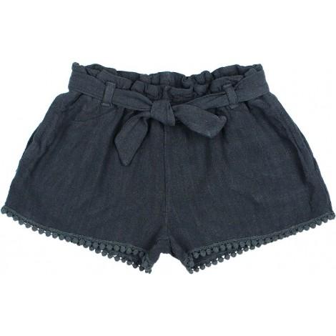 Pantalón corto niña VITO en BLUE NIGHT