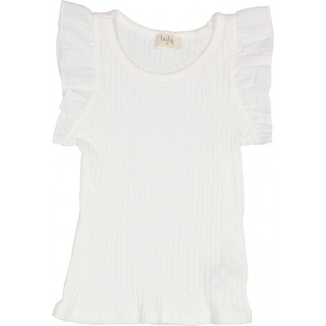 Camiseta niña VENICE TOP en WHITE