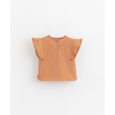Camiseta niña con encajes en RAQUEL