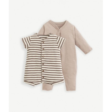 Pack 2 peleles bebé corto y largo en BICHO/R259B