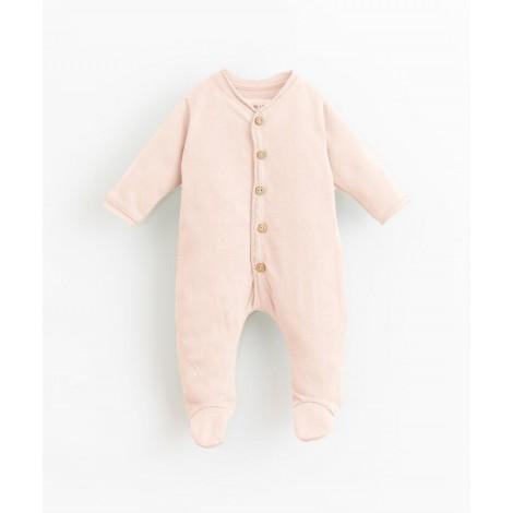 Pelele bebé con pie y botones coco en EGG