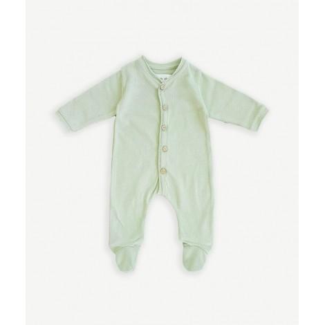 Pelele bebé con pie y botones coco en ARMINHO
