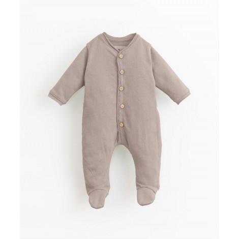 Pelele bebé con pie y botones coco en BICHO