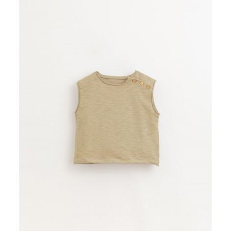 Camiseta bebé flamé sin mangas en JOAO