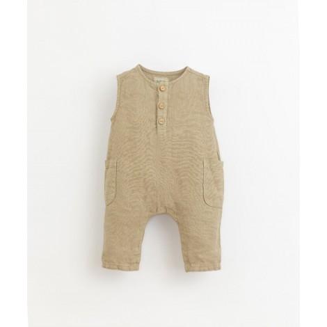 Mono bebé sin mangas bolsillos en JOAO