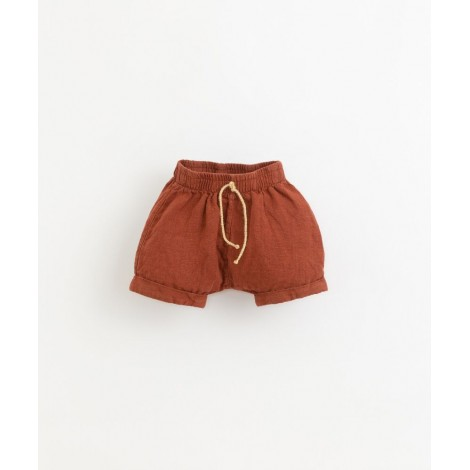 Pantalón corto bebé lino en FARM