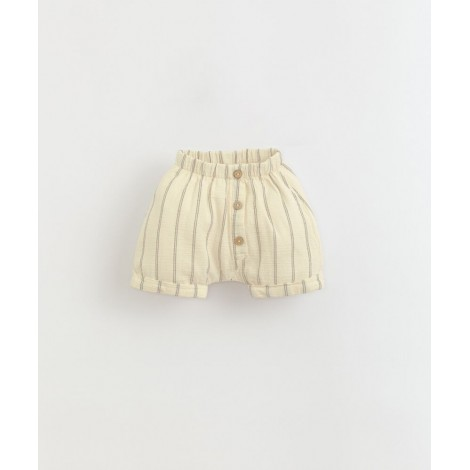 Pantalón corto bebé rayas en DANDELION