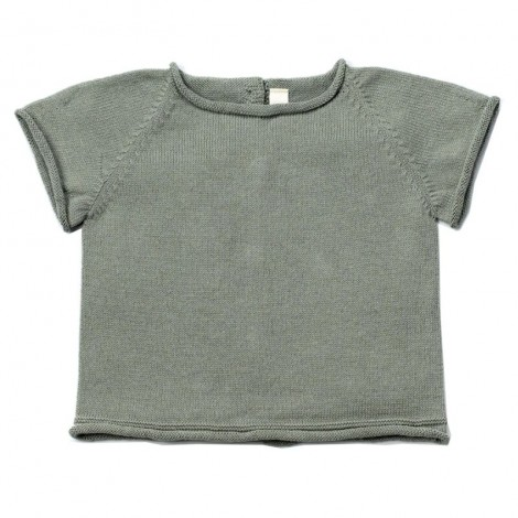 Jersey bebé tricot manga corta JAN en MINT
