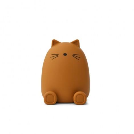PALMA hucha para guardar dinero Cat mustard