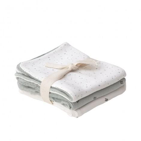 Pack x 3 toallas lactancia bebé MULTI WILD