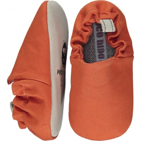 Zapatitos bebé EMBER ORANGE Poco Nido mini shoes