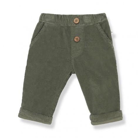 Pantalón bolsillo micropana ARTAL de bebé en OLIVA