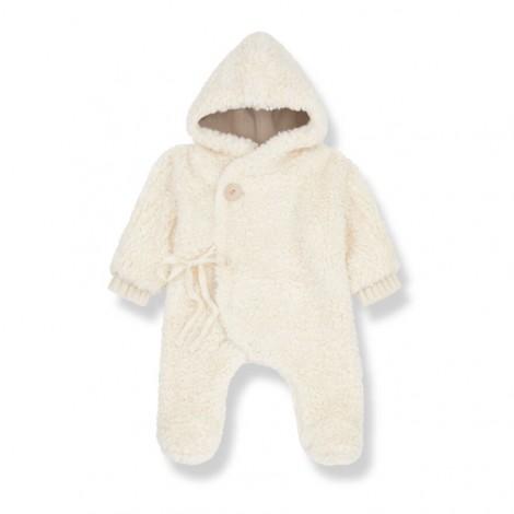 Buzo polar CHANTAL de bebé en CRUDO