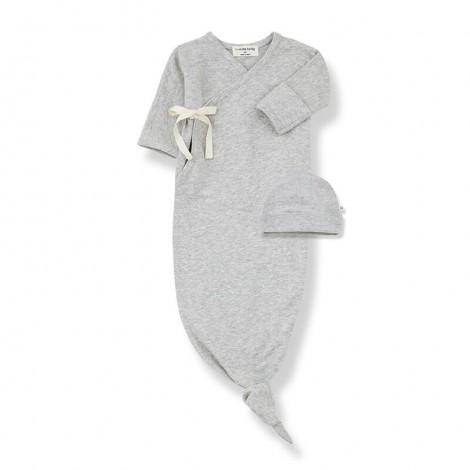 Conjunto recién nacido CLOTHILDE de bebé en GRIS
