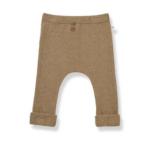 Pantalón leggings MARTI de bebé en BRANDY
