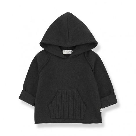 Jersey capucha LEANDRE de bebé en CHARCOAL