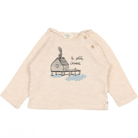 Camiseta Bebé Cabane en STONE