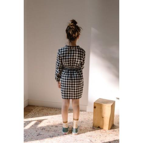 Vestido Niña Camisero Cuadros en VICHY
