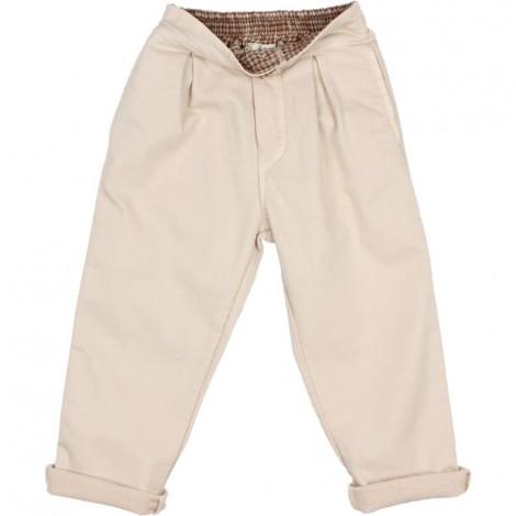 Pantalón Niña Pinzas en STONE