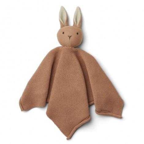 Doudou de punto Miilo bebé Rabbit tuscany rose