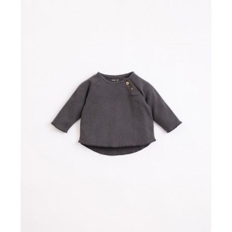 Camiseta bebé punto botones en FRAME