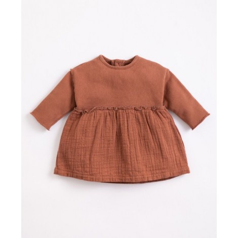 Vestido bebé Tejidos Mixtos en SANGUINE
