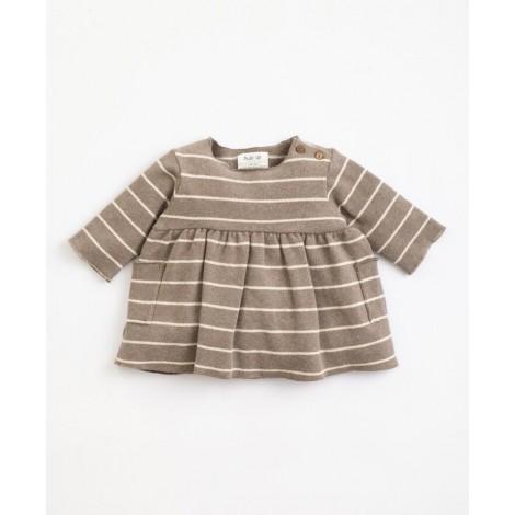 Vestido bebé de punto a Rayas en FRAME