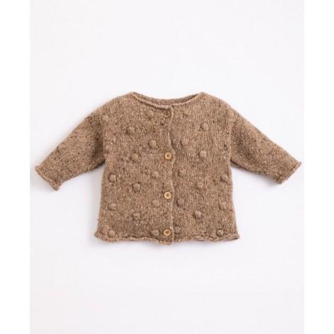 Cárdigan tricot bebé en PAPER