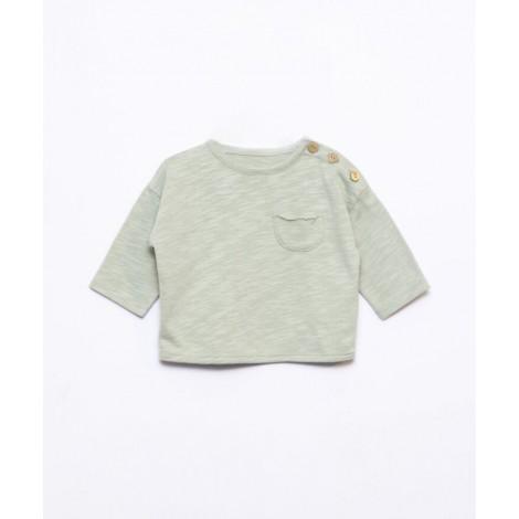 Camiseta bebé bolsillo Flamé en MOM