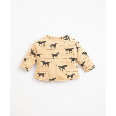 Camiseta bebé perritos estampados en OLIVIA