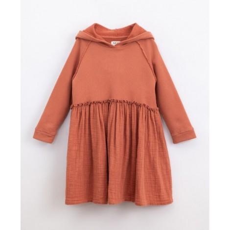 Vestido niña capucha en MADALENA