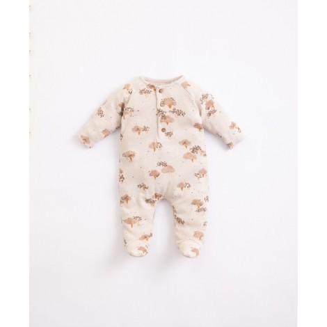 Pelele bebé estampado en MIRÓ