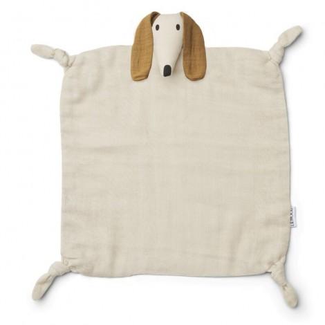 Doudou Agnete bebé Dog sandy
