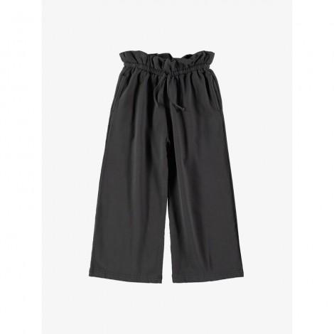 Pantalón largo niña WAIST ASPHALT cintura alta