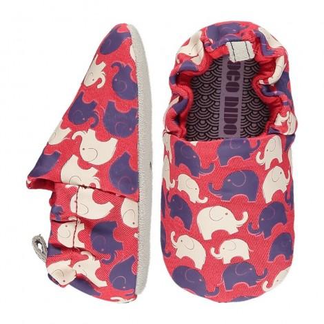 Zapatitos bebé Poco Nido ELEPHANT RED mini shoes