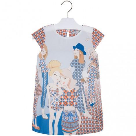 Vestido serigrafía niñas