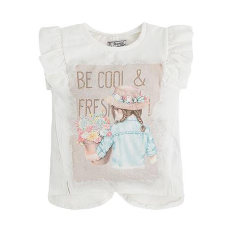 Camiseta tirantes niña espald