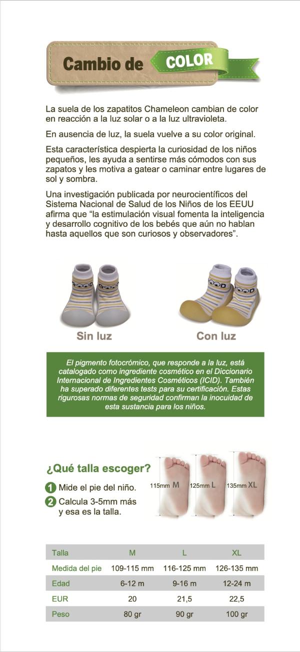 Zapatos bebé Chameleon