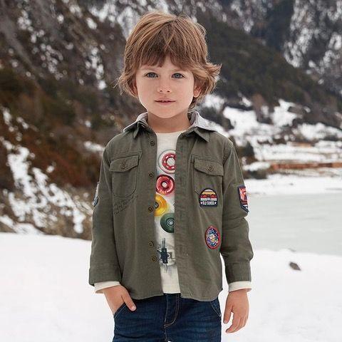 Liquidación de ropa Mayoral imagen niño nieve